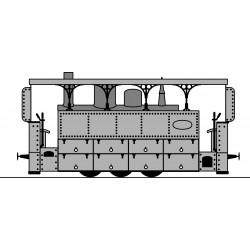 BLANC-MISSERON locomotives bi-cabine