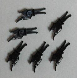 3 paires tête d'attelage à élongation FLEISCHMANN