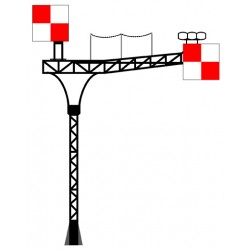 Potence PLM pour 2 voies modèle 1891