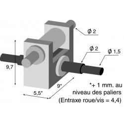 Réducteur 1/18 tout métal