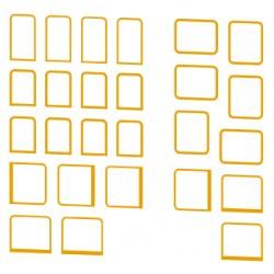 Entourages de fenêtres pour 2D2 5500 Jouef