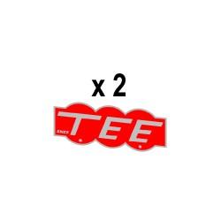 Marquage latéral TEE pour locomotive BB 15000 région Est