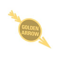 """Macaron """"Golden Arrow"""" pour vapeur échelle 00"""
