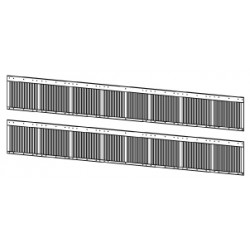 Persiennes de ventilation latérales locos électriques BB 25170 à 200