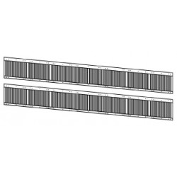 Persiennes de ventilation latérales locos électriques BB 8500 / 25500