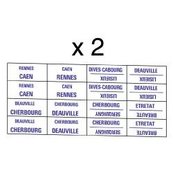 32 marquages itinéraire Ouest pour trains régionaux de Normandie