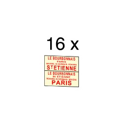 """32 marquages d'itinéraire """"Bourbonnais"""" pour RGP"""