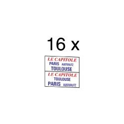 """32 marquages d'itinéraire """"Le Capitole"""""""