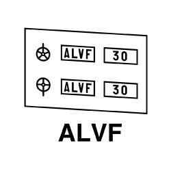 Plaques ALVF