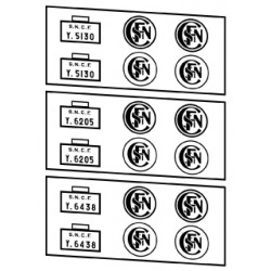 Locotracteurs diesel Y5100, Y6200 et Y6400