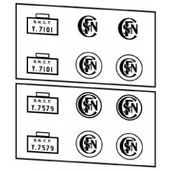 Locotracteurs diesel type Y7100 et Y7400