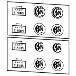Locotracteurs diesel type Y9100 et Y51100