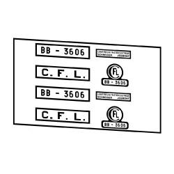 Locomotives électriques CFL BB 3600