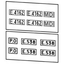 Locomotives électriques PO, Midi ou PO-Midi