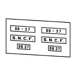 Locomotives électriques SNCF BB 1 à 80