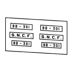 Locomotives électriques SNCF BB 300 ou 900