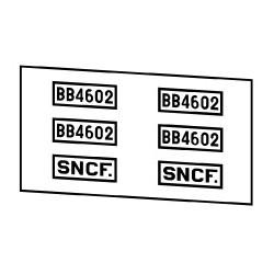 Locomotives électriques SNCF BB 4100 ou 4600
