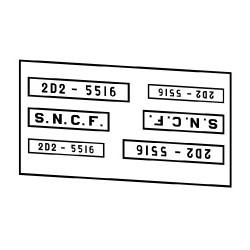 Locomotives électriques SNCF 2D2 5500