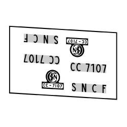 Locomotives électriques SNCF CC 7100