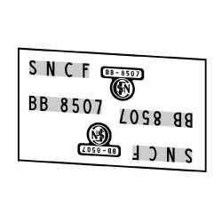 Locomotives électriques SNCF BB 8500