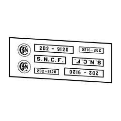 Locomotives électriques SNCF 2D2 9100