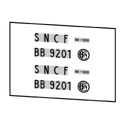 Locomotives électriques SNCF BB 9200