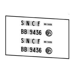 Locomotives électriques SNCF BB 9400