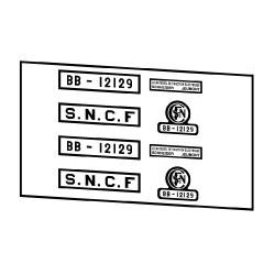 Locomotives électriques SNCF BB 12000