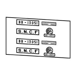 Locomotives électriques SNCF BB 13000