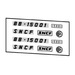 Locomotives électriques SNCF BB 15000