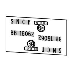 Locomotives électriques SNCF BB 16000