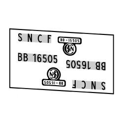 Locomotives électriques SNCF BB 16500
