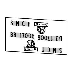 Locomotives électriques SNCF BB 17000