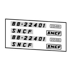 Locomotives électriques SNCF BB 22200