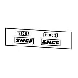 Locomotives électriques SNCF CC 21000