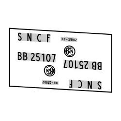 Locomotives électriques SNCF BB 25100