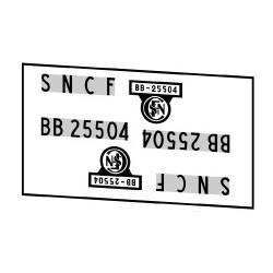 Locomotives électriques SNCF BB 25500