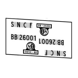 Locomotives électriques SNCF BB 26000