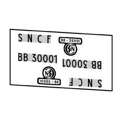 Locomotives électriques SNCF BB 30000