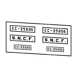 Locomotives électriques SNCF CC 25000
