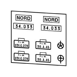 Plaques anciens réseaux