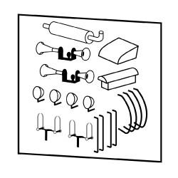 Accessoires de caisse A80D
