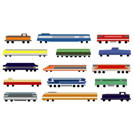 If Interfer Peintures Quelle Teinte Sur Quel Matériel Ferroviaire