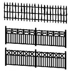 Barrières en béton, 3 modèles différents