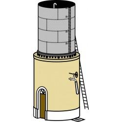 Réservoir type CFD de 20 ou 30 m2