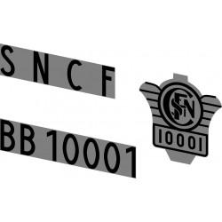 Locomotives électriques SNCF BB et CC 10000
