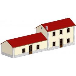 Bâtiments bureaux et magasin