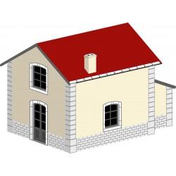 Maisonnette de garde-barrière type CFD